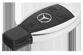 Mercedes autosleutel